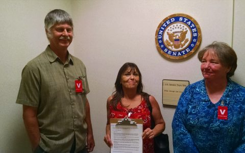 Our delegation of Down Home NC members met with Senator Tillis's staff to defend Medicaid and Medicare.